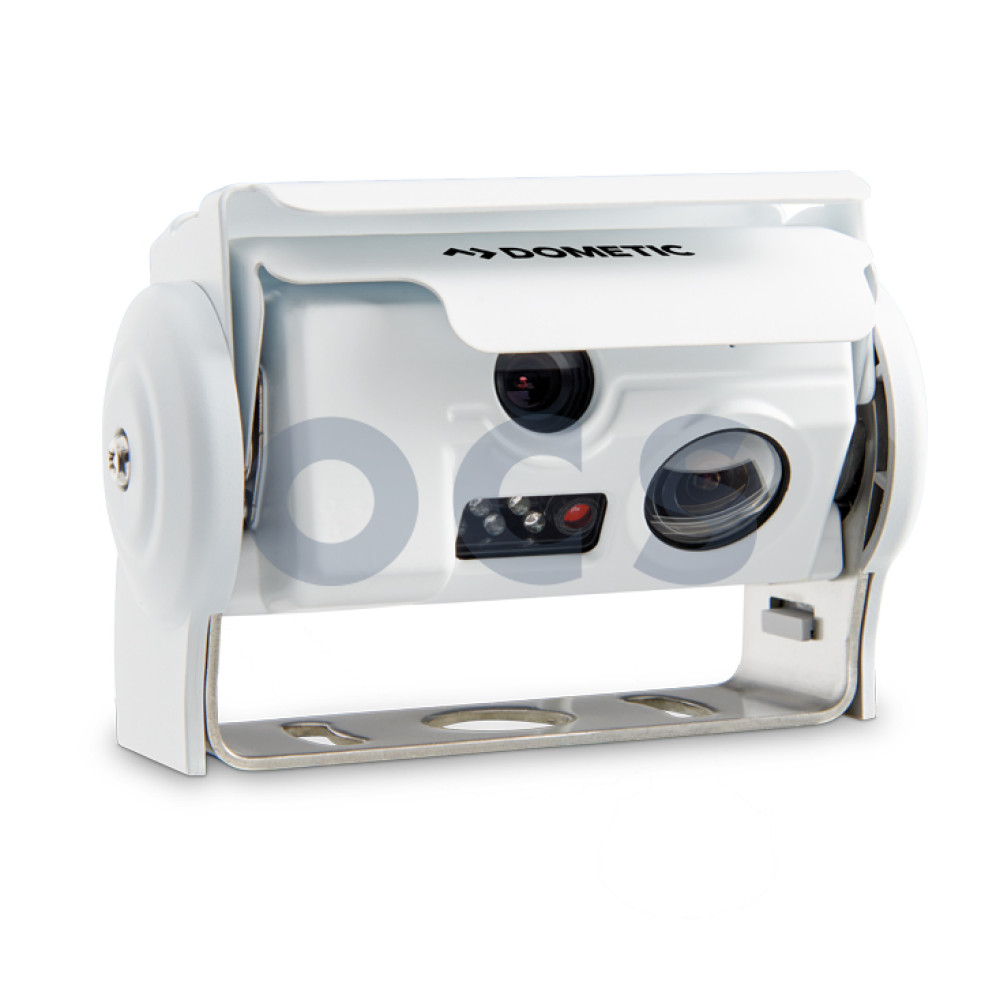 2055376 Dometic PerfectView CAM 44W NAV Twin Eyes Achteruitrijcamera Wit