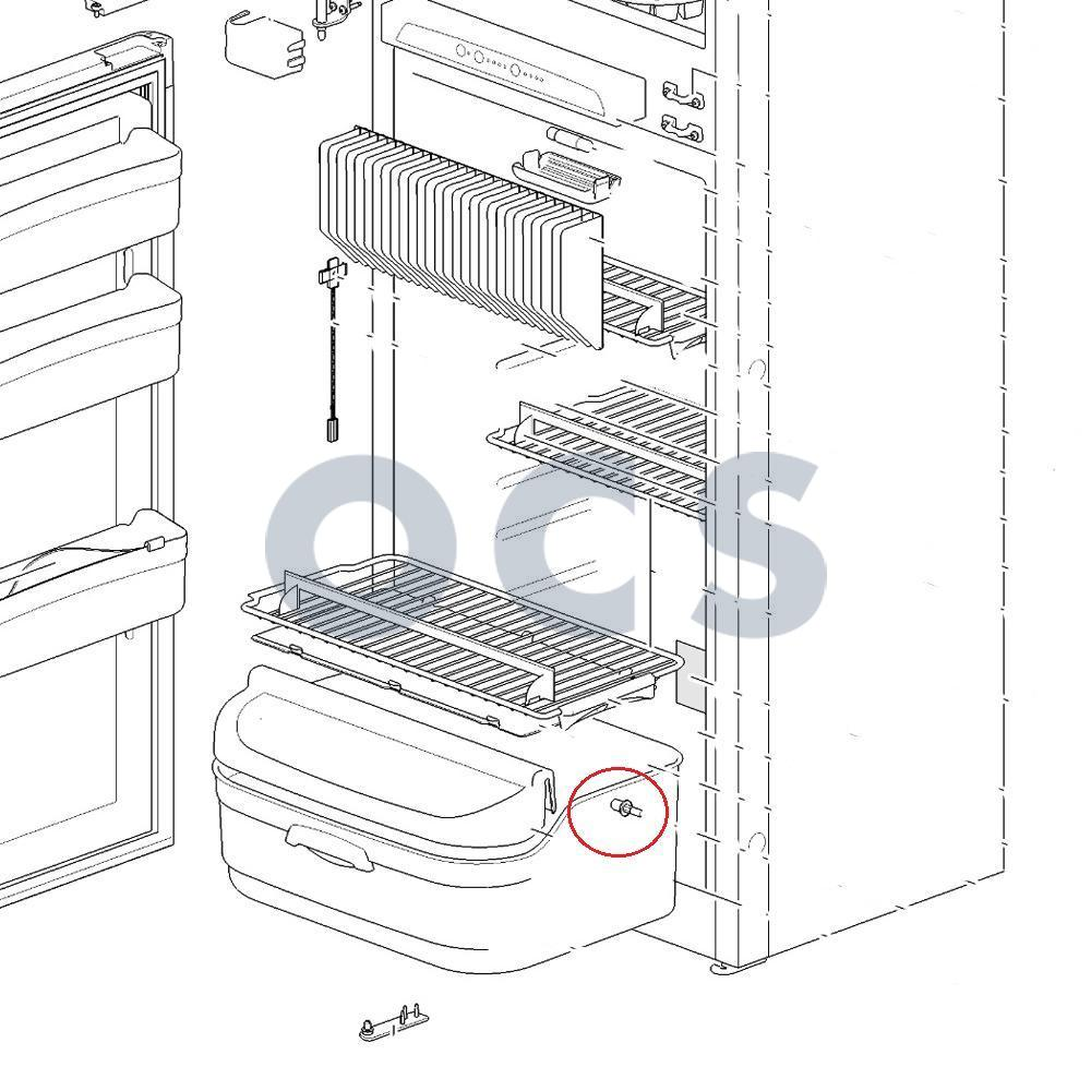 62363612 Thetford Shelf tray insert N145