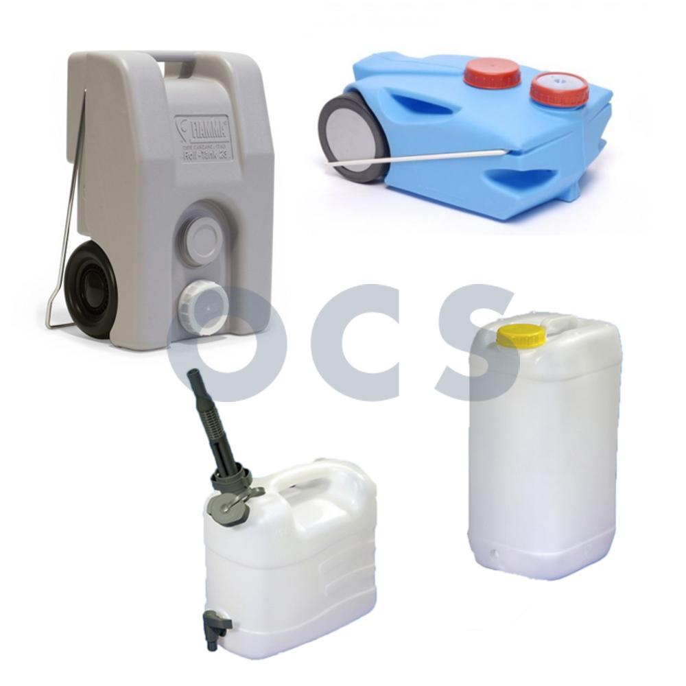 Jerrycans & Rolwatertanks